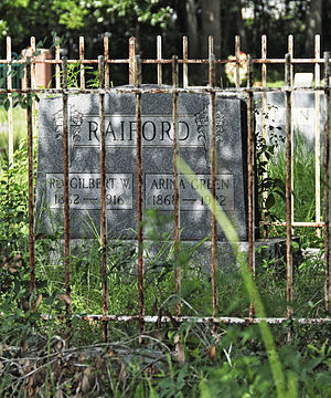 National Register of Historic Places listings in Aiken County, South Carolina - Image: Aiken Colored Cemetery