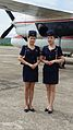 Air Koryo Stewardesses for Antonov 24 Charter Flight.jpg