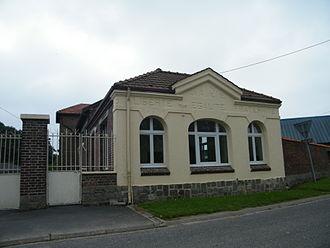 Aizecourt-le-Haut - The town hall of Aizecourt-le-Haut