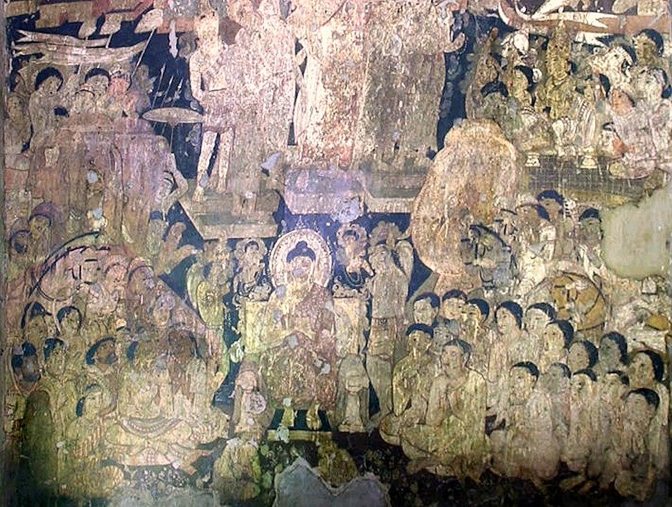 Ajanta Cave 17 frescoe