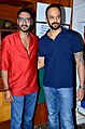 Ajay Devgn, Rohit Shetty 'Bol Bachchan' team on the sets of Taarak Mehta Ka Ooltah Chashmah 05.jpg