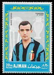 Ajman 1968-08-25 stamp - Mario Corso.jpg
