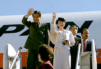 Akihito - 1987 (Showa 62), the last foreign visit as the crown prince (America)