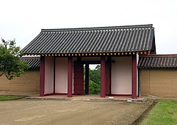 Akita no ki east gate of outer bailey.jpg