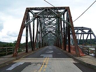 Albert Gallatin Memorial Bridge - Image: Albert Gallatin Memorial Bridge (1930) West End