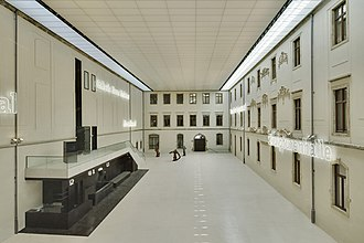 Albertinum - The atrium of the Albertinum