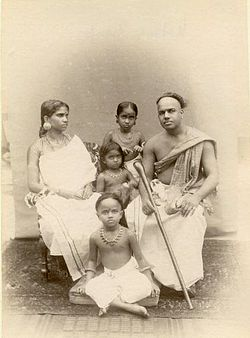Albumen photograph of an Indian family with children in the 1870s.jpg