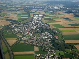 Aldenhoven - Aerial view