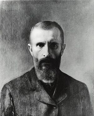 Aleksander Gierymski - Aleksander Gierymski, self-portrait, 1900