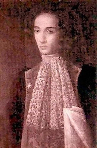 Alessandro Scarlatti - Scarlatti as a young man.