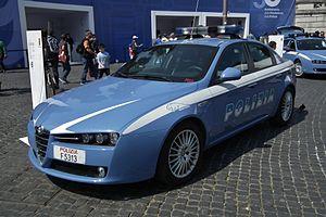 "Polizia Stradale - Alfa Romeo 159 ""Pantera"""