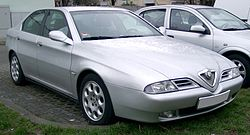 Alfa Romeo 166, prior to facelift