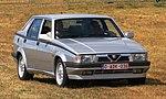 Alfa Romeo 75 Twin Spark 2.0 at Schaffen-Diest in 2018.jpg