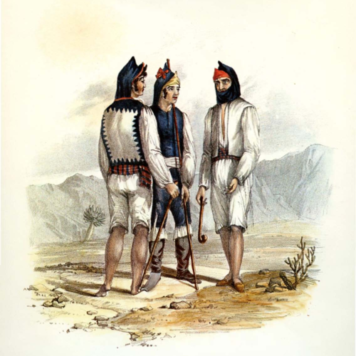 Alfred Diston, Natives of Fuerteventura (1829).png