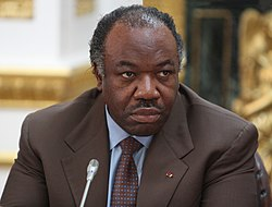 Ali Bongo Ondimba, President of Gabon at the Climate Security Conference in London, 22 March 2012