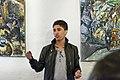 Ali Hosseini Hazara åpner maleriutstilling i Suhmhuset (7181920042).jpg