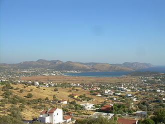 Attica - View from Anavyssos, looking south-east towards Palaia Fokaia.
