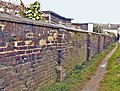 Alley leading to Boston Road (pre-development), Sleaford (6) - geograph.org.uk - 1135684.jpg