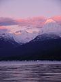 Alpenglow on Lake McDonald (5375974151).jpg