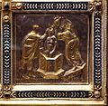 Altare di s. ambrogio, 824-859 ca., retro di vuolvino, storie di sant'ambrogio 14 battesimo del santo.jpg