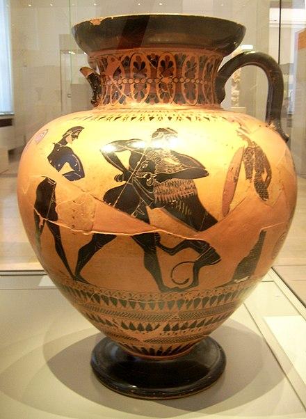 Neck Amphora By Exekias Berlin F 1720 Wikiwand