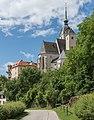 Althofen Pfarrkirche hl Thomas von Canterbury NO-Ansicht 24062015 5203.jpg