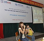 Alumni of IT Training Program for Person with Disabilities gather to share experience (14299601757).jpg