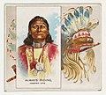 Always Riding, Yampah Ute, from the American Indian Chiefs series (N36) for Allen & Ginter Cigarettes MET DP838913.jpg