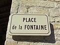 Ambérieux - Place de la Fontaine - Plaque (fév 2019).jpg