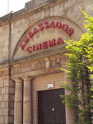 Ambassador Cinema - Ambassador Cinema old sign