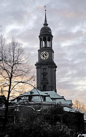 Hamburg-Mitte - Church of St. Michaelis in 2005