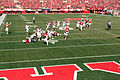 Ameer Abdullah running for TD 2 (Nebraska vs. Rutgers 2014).jpg