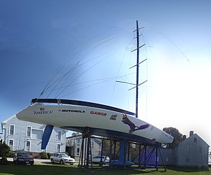 America³ (1992 yacht) - America³ in 1992.