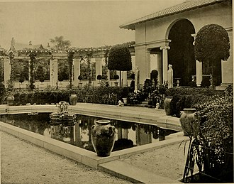 "Brandegee Estate - Pool and casino, ""Faulkner Farm"" (1904)"