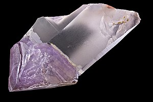 Crystal - A crystal of amethyst quartz