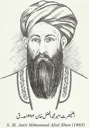 Mohammad Afzal Khan - Sketch work of Mohammad Afzal Khan