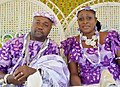 An Akan coupleTraditional weddings clothes made of Kita.jpg
