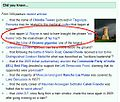 An example of the GFDL Wikipedia main page DYK layout.jpg