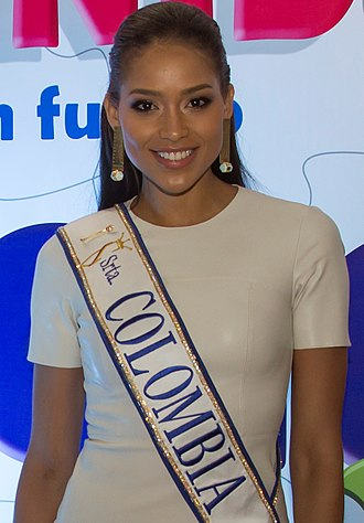 Miss Colombia - Andrea Tovar, Señorita Colombia 2015, 2nd runner-up at Miss Universe 2016.