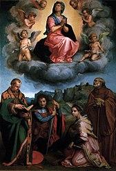 Андреа дель Сарто: Assumption of the Virgin