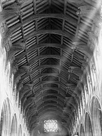 Angel's roof St Mary's Church Bury St Edmunds