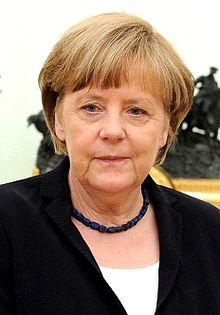 Angela Merkel en mai 2015.