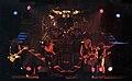 Angeles del Infierno 1º Formación sobre el escenario Madrid 1985.jpg