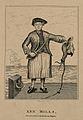 Ann Mills, a sailor. Line engraving by R. Graves. Wellcome V0007202.jpg