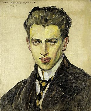 Anne Goldthwaite - Anne Goldthwaite, Portrait of a Young Man, 1913, Smithsonian American Art Museum