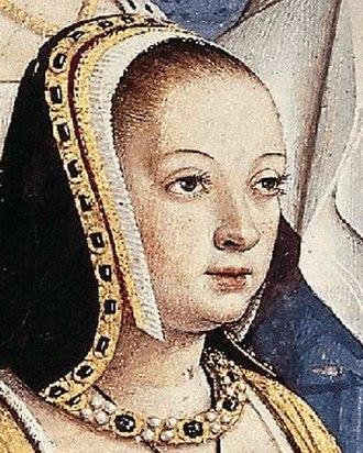 French hood - Image: Anne de Bretagne Jean Bourdichon
