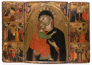 Virgin and Child with Scenes from the Life of Christ