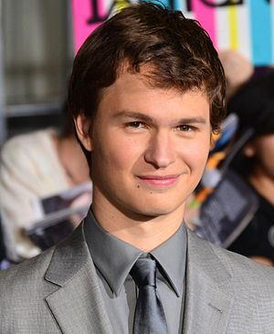 Ansel Elgort - Elgort at the premiere of Divergent, 2014