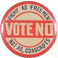 Anti-conscription badge.JPG