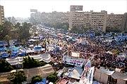 Anti-coup sit-in at Rabaa Adiweya mosque 2013